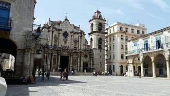 Courtyard Old Havana